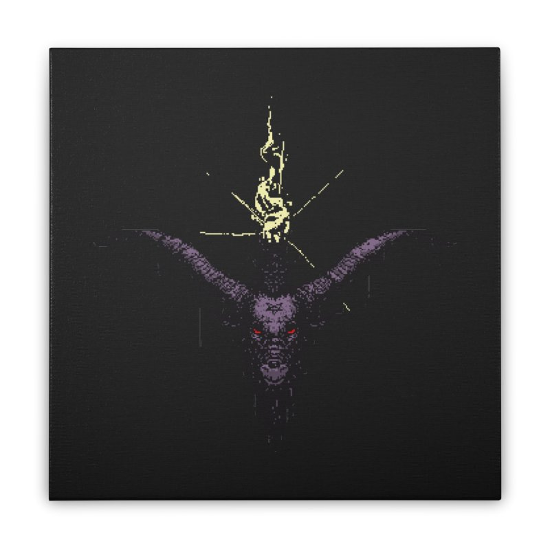 Bitphomet  Home Stretched Canvas by Cumix47's Artist Shop