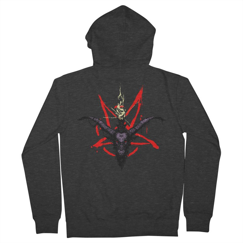 Bitphomet  Men's French Terry Zip-Up Hoody by Cumix47's Artist Shop