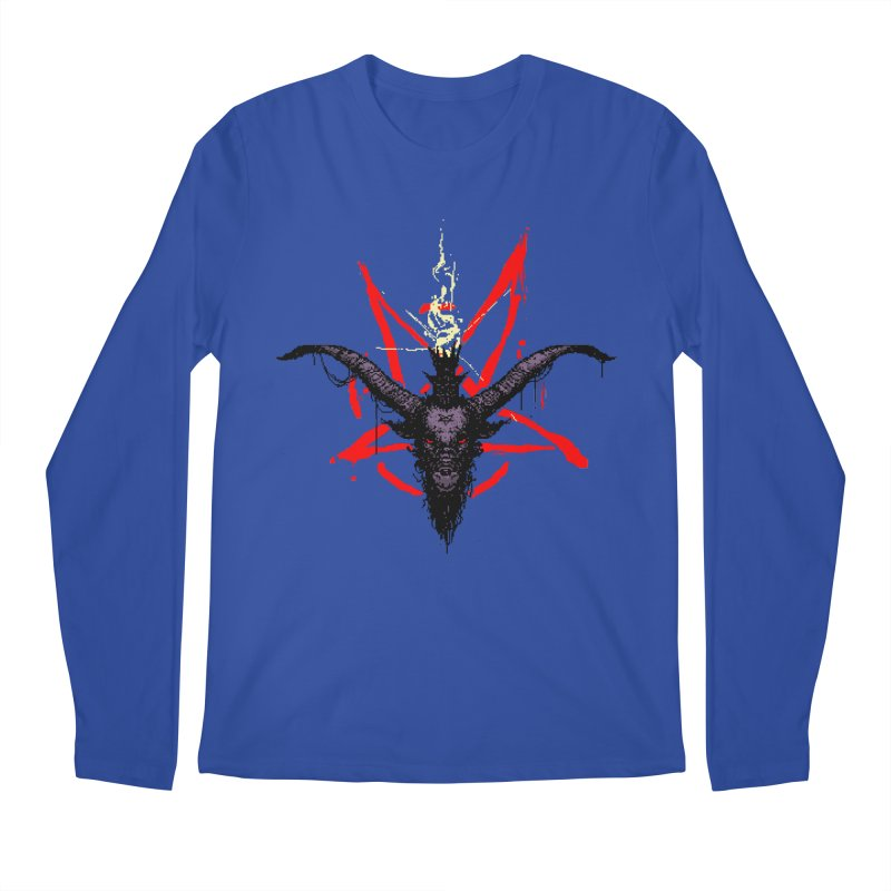 Bitphomet  Men's Regular Longsleeve T-Shirt by Cumix47's Artist Shop