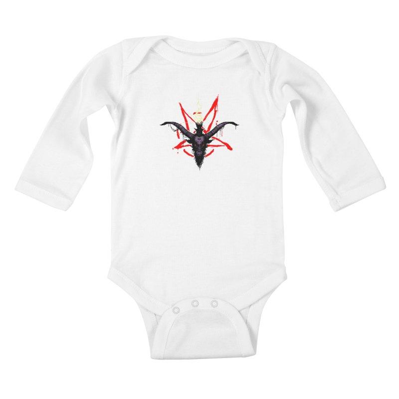 Bitphomet  Kids Baby Longsleeve Bodysuit by Cumix47's Artist Shop