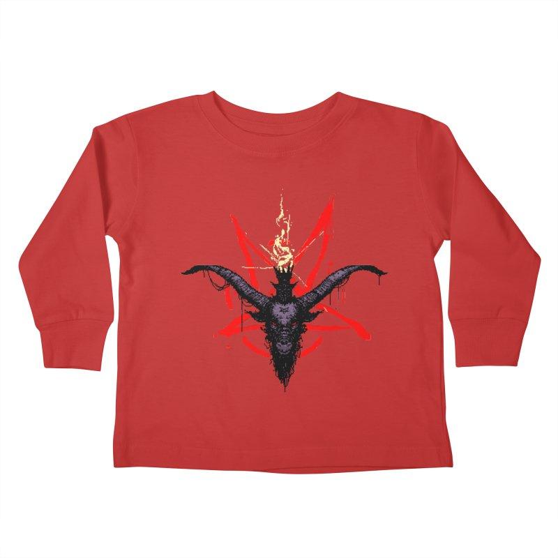 Bitphomet  Kids Toddler Longsleeve T-Shirt by Cumix47's Artist Shop
