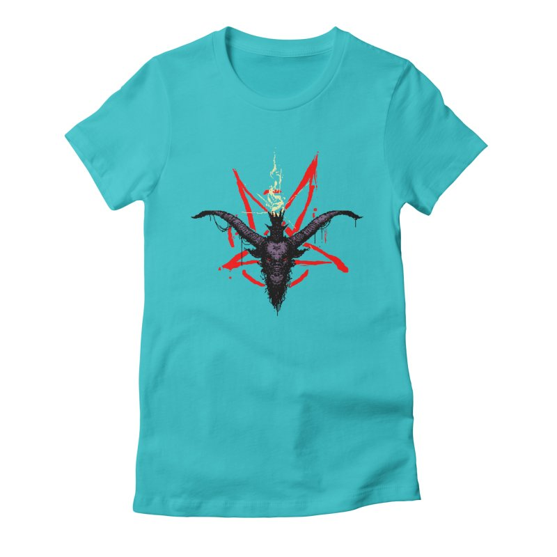 Bitphomet  Women's Fitted T-Shirt by Cumix47's Artist Shop