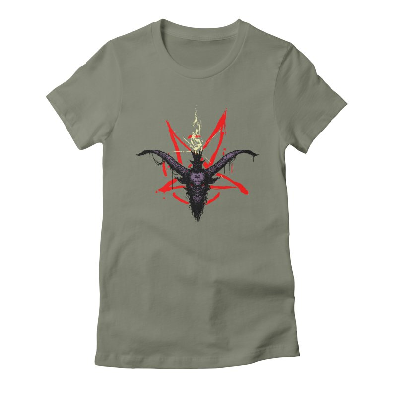 Bitphomet  Women's Fitted T-Shirt by Cumix47's Artist Shop