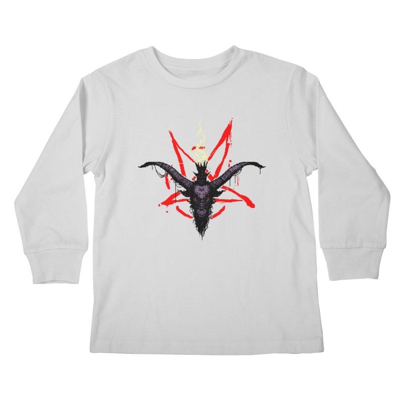 Bitphomet  Kids Longsleeve T-Shirt by Cumix47's Artist Shop