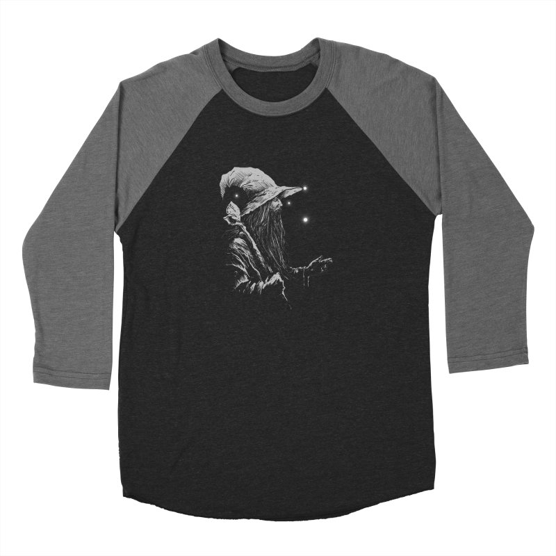 Grey Wizzard Women's Baseball Triblend Longsleeve T-Shirt by Cumix47's Artist Shop