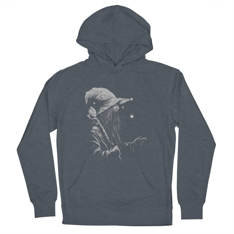 Grey Wizzard Women's Pullover Hoody by Cumix47's Artist Shop