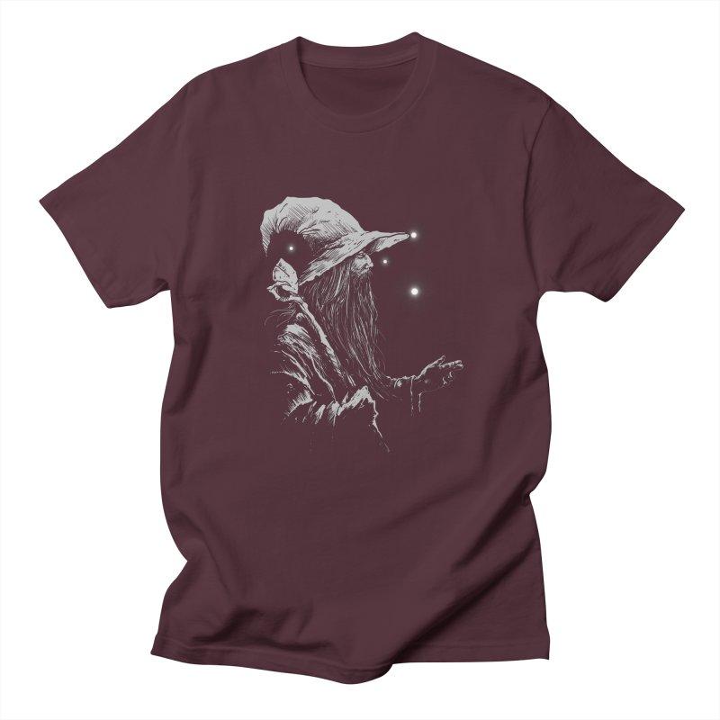 Grey Wizzard Men's Regular T-Shirt by Cumix47's Artist Shop