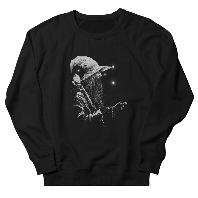 Grey Wizzard Men's French Terry Sweatshirt by Cumix47's Artist Shop