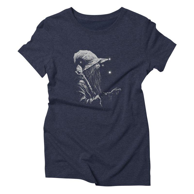 Grey Wizzard Women's T-Shirt by Cumix47's Artist Shop