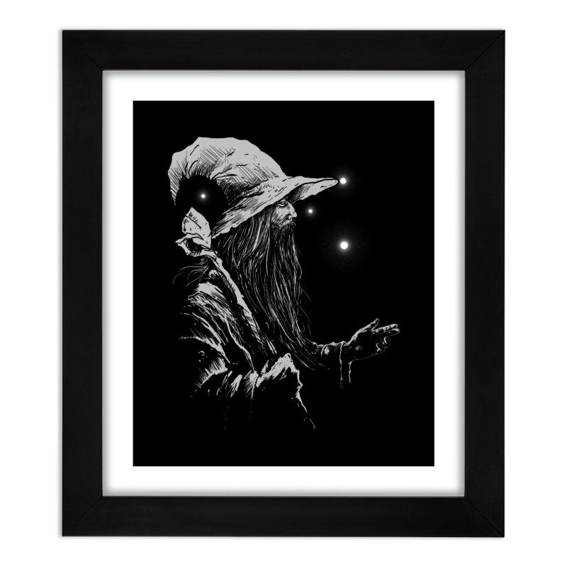 Grey Wizzard Home Framed Fine Art Print by Cumix47's Artist Shop
