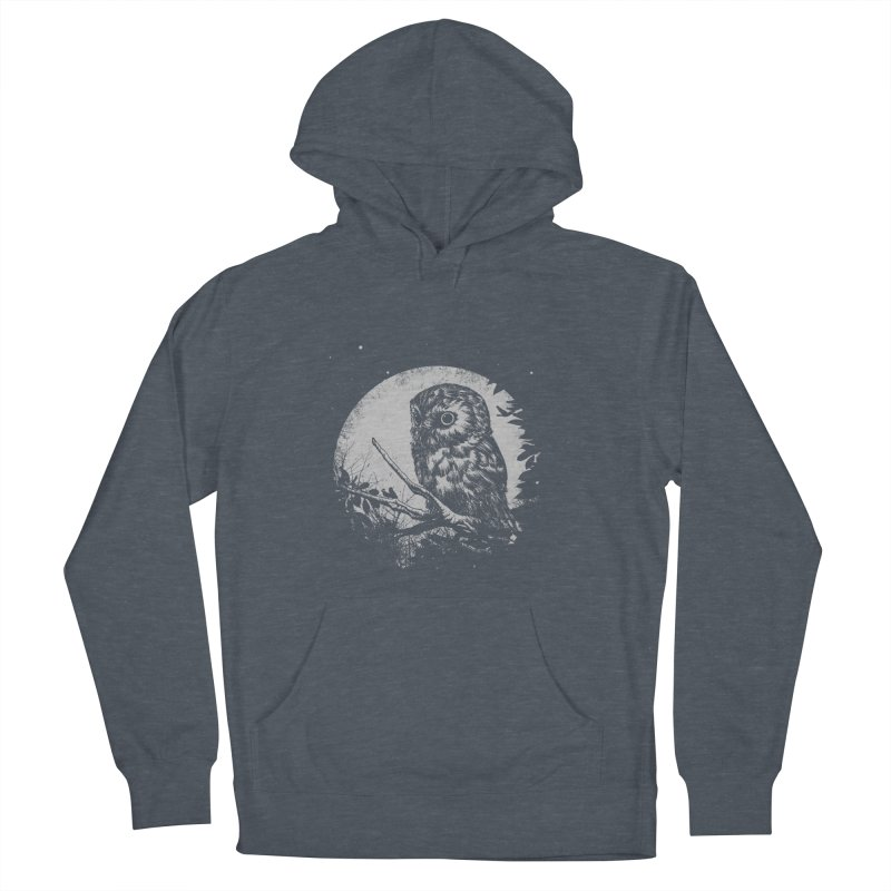 Friend of the Night Men's French Terry Pullover Hoody by Cumix47's Artist Shop