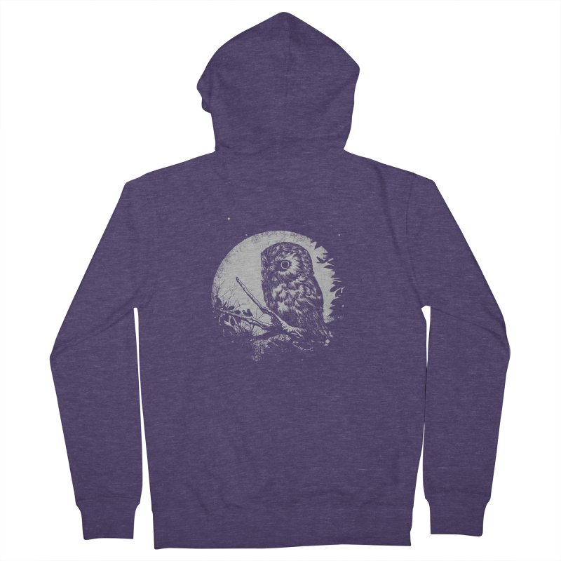 Friend of the Night Men's Zip-Up Hoody by Cumix47's Artist Shop
