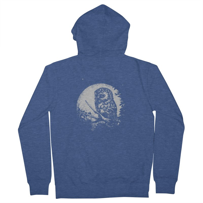 Friend of the Night Men's French Terry Zip-Up Hoody by Cumix47's Artist Shop