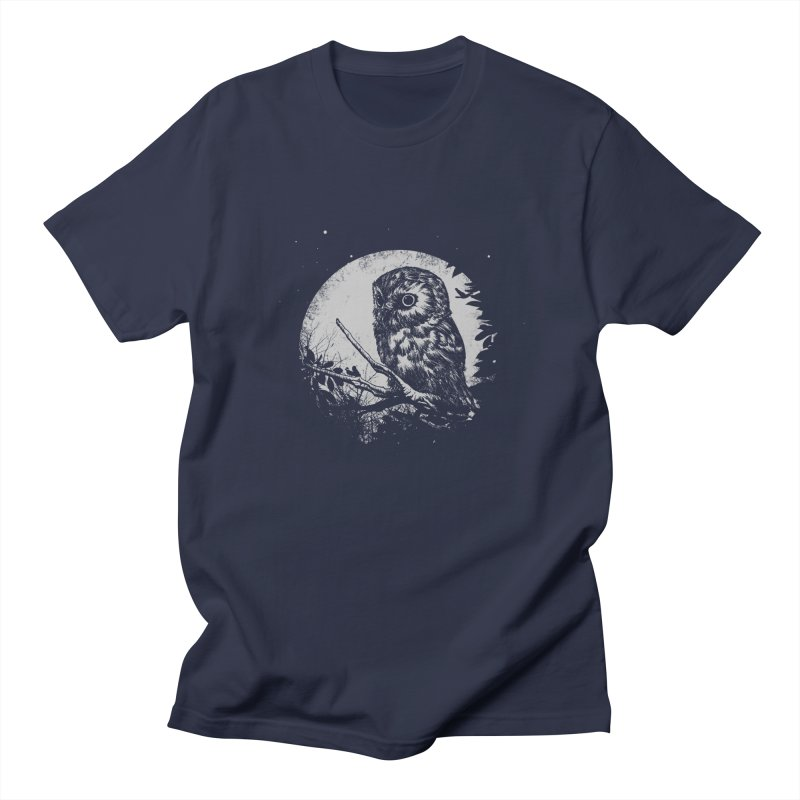 Friend of the Night in Men's Regular T-Shirt Navy by Cumix47's Artist Shop
