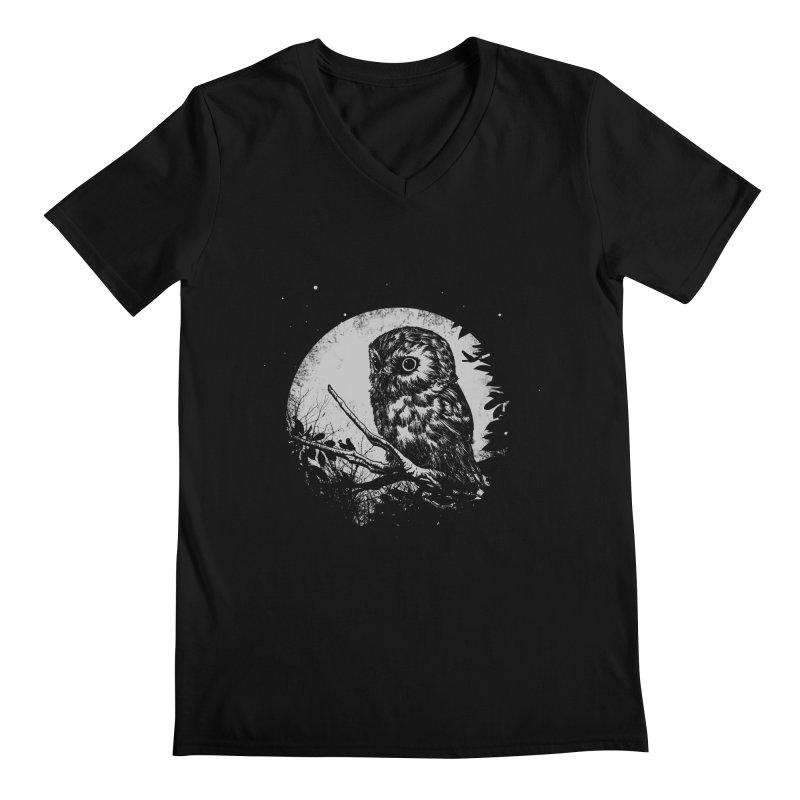 Friend of the Night Men's V-Neck by Cumix47's Artist Shop