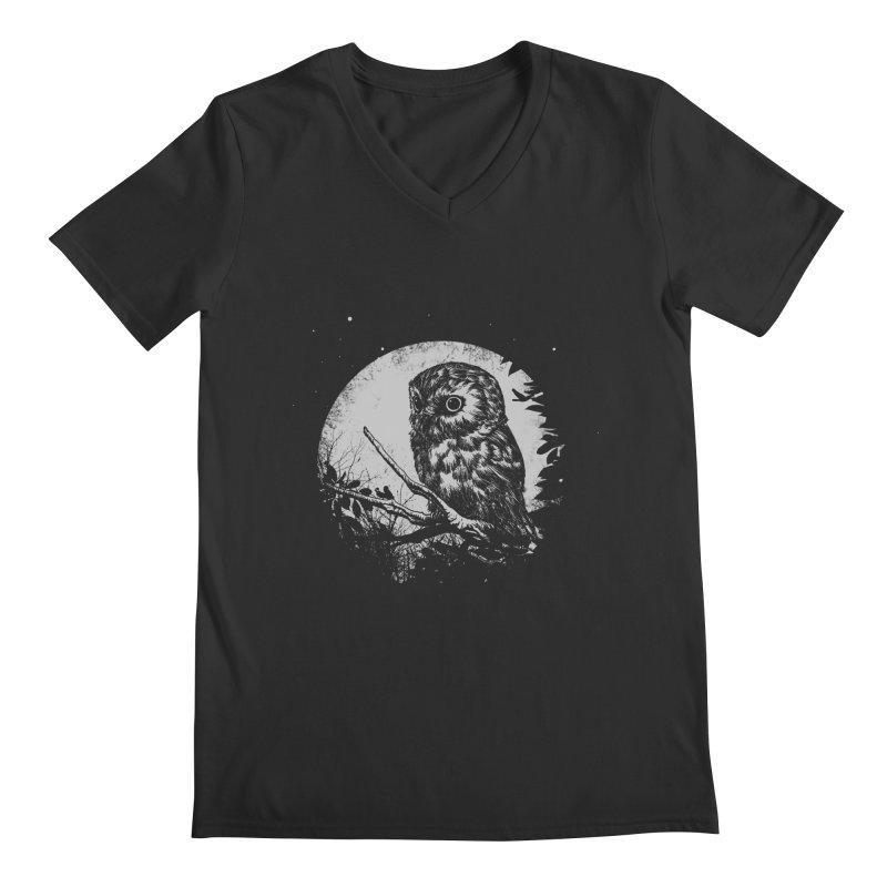 Friend of the Night Men's Regular V-Neck by Cumix47's Artist Shop