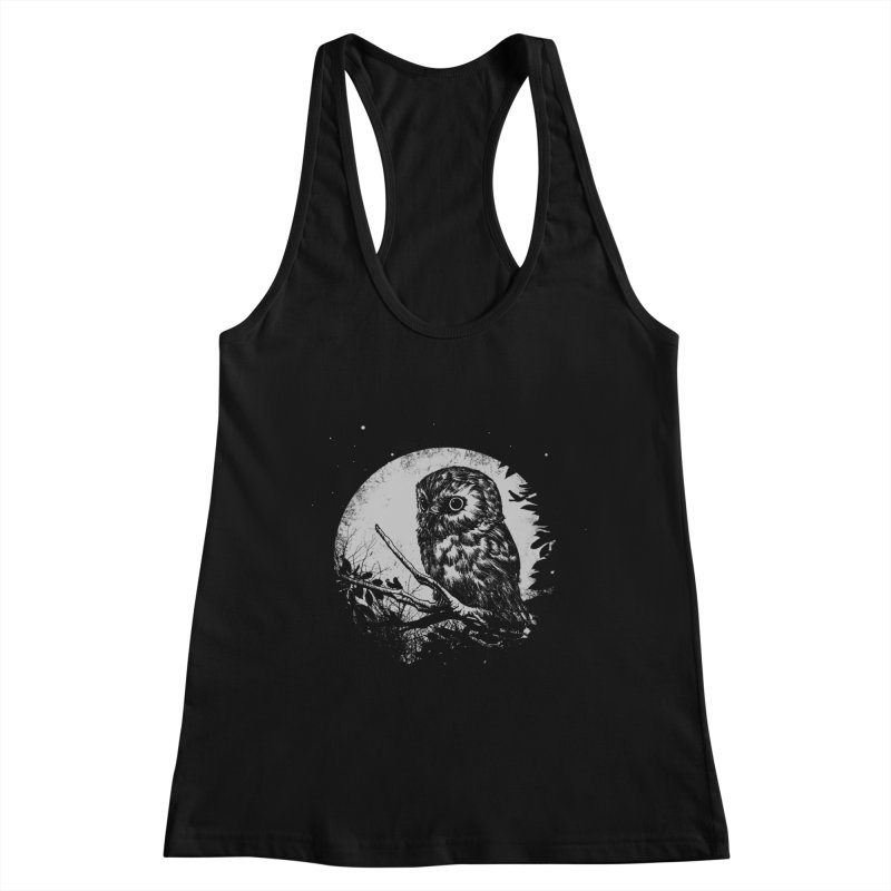 Friend of the Night Women's Racerback Tank by Cumix47's Artist Shop