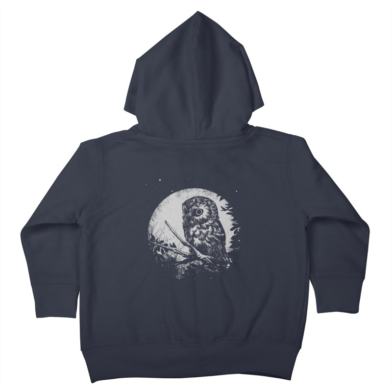 Friend of the Night Kids Toddler Zip-Up Hoody by Cumix47's Artist Shop