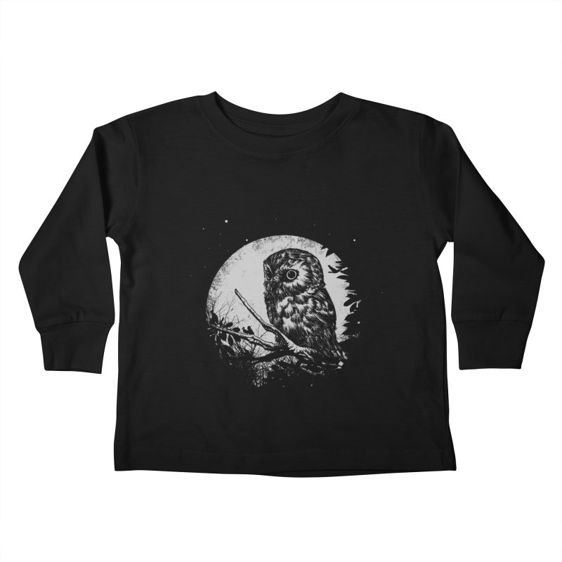 Friend of the Night Kids Toddler Longsleeve T-Shirt by Cumix47's Artist Shop