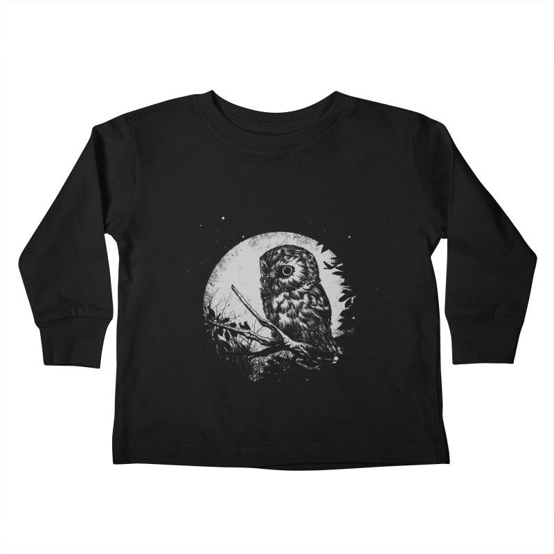 Friend of the Night Kids Toddler Longsleeve T-Shirt by Cumix47's Artist Shop