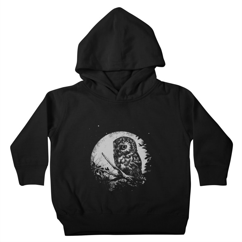 Friend of the Night Kids Toddler Pullover Hoody by Cumix47's Artist Shop