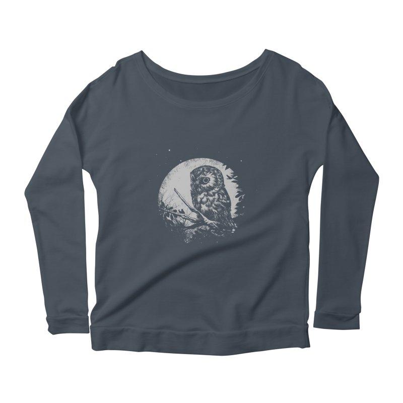 Friend of the Night Women's Scoop Neck Longsleeve T-Shirt by Cumix47's Artist Shop