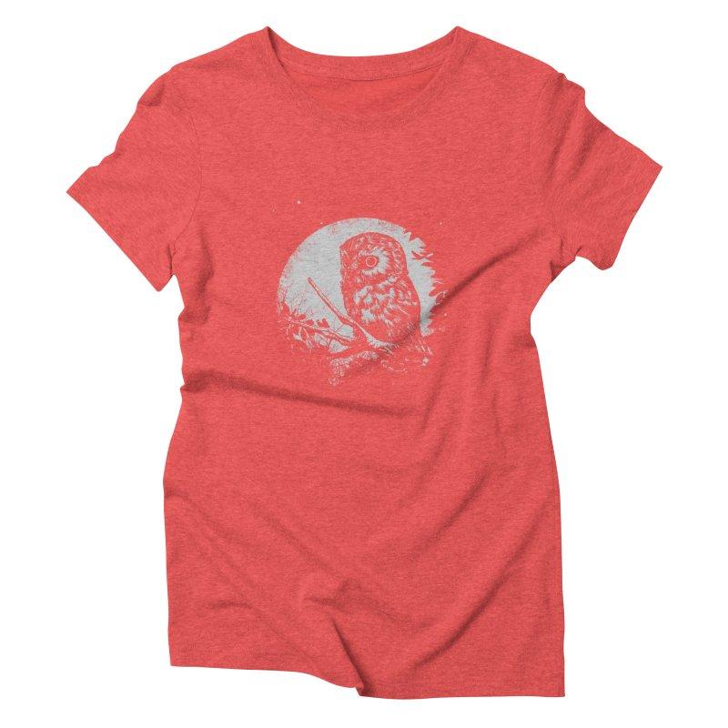 Friend of the Night Women's Triblend T-Shirt by Cumix47's Artist Shop