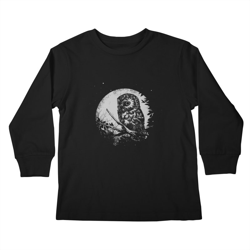 Friend of the Night Kids Longsleeve T-Shirt by Cumix47's Artist Shop