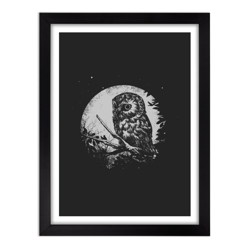 Friend of the Night Home Framed Fine Art Print by Cumix47's Artist Shop