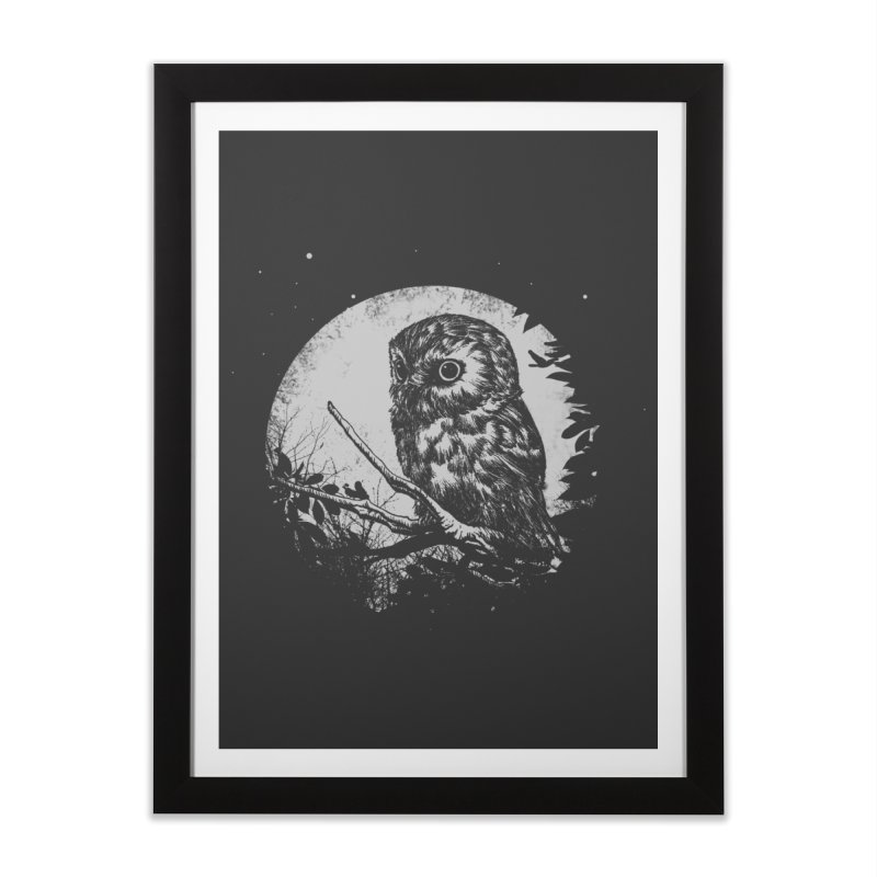 Friend of the Night Home Framed Fine Art Print by Cumix47's Artist Shop