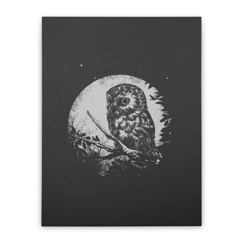 Friend of the Night Home Stretched Canvas by Cumix47's Artist Shop