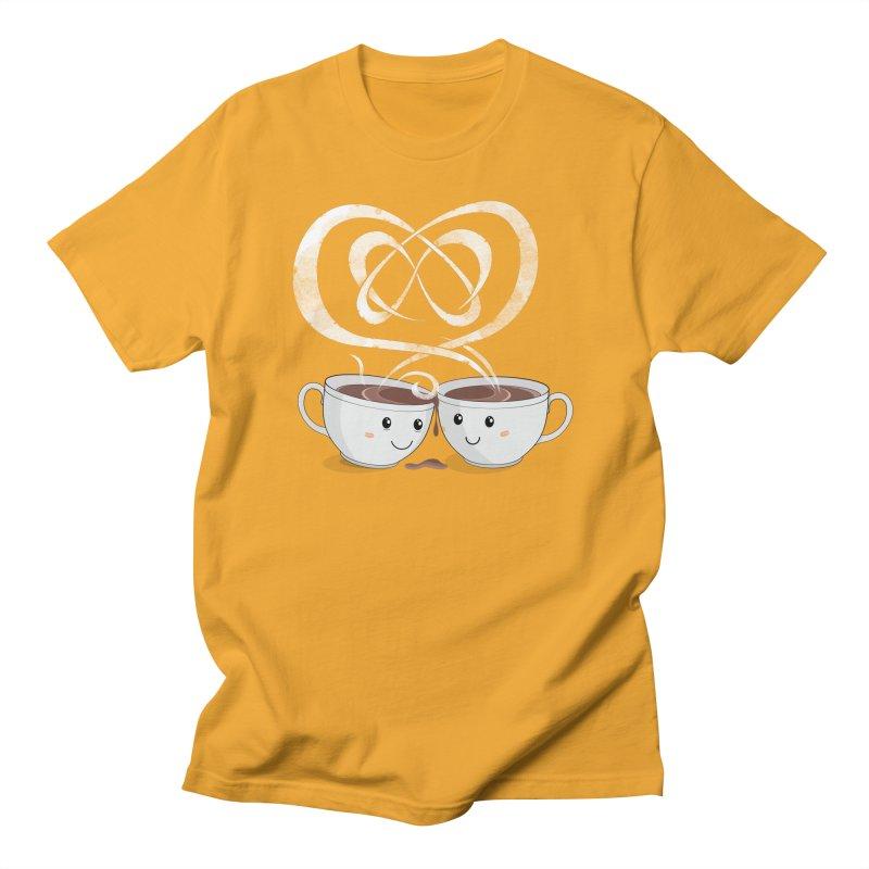 Coffee Lovers Men's Regular T-Shirt by Cumulo 7
