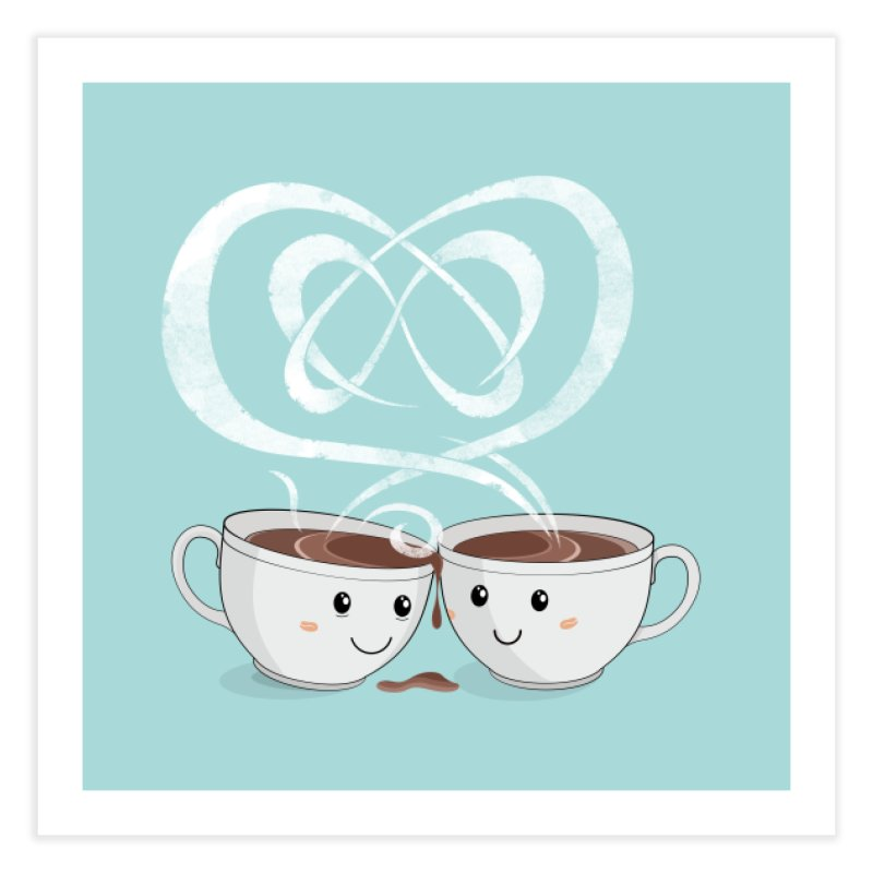 Coffee Lovers in Fine Art Print by cumulo7's Artist Shop