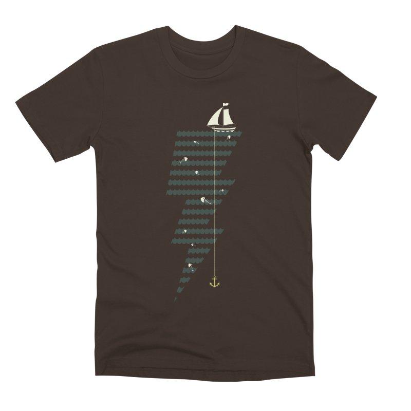 Sea Storm Men's Premium T-Shirt by Cumulo 7