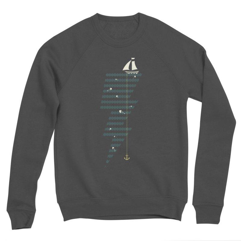 Sea Storm Women's Sponge Fleece Sweatshirt by Cumulo 7