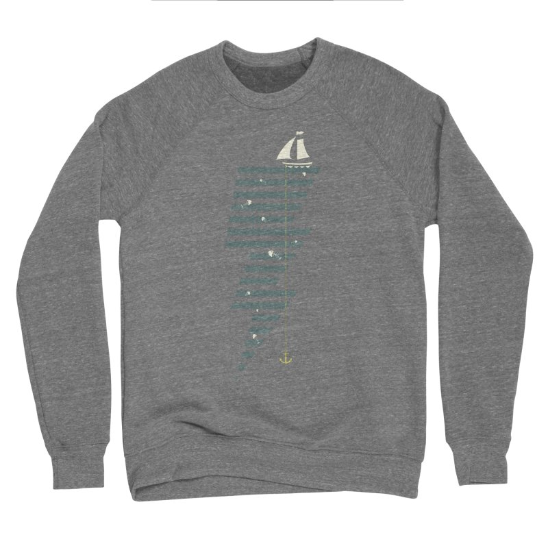 Sea Storm Men's Sponge Fleece Sweatshirt by Cumulo 7