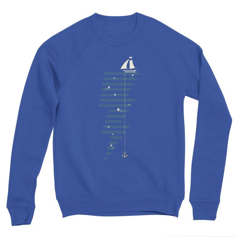 Sea Storm Men's Sponge Fleece Sweatshirt by Cumulo 7
