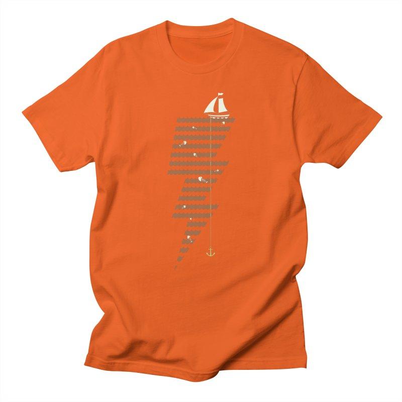 Sea Storm Women's Unisex T-Shirt by cumulo7's Artist Shop