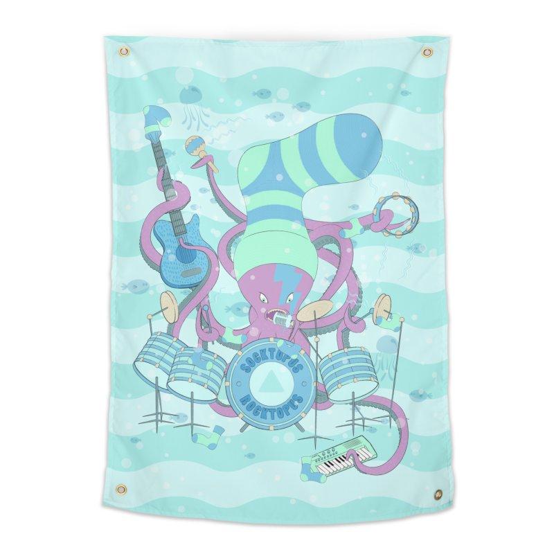 Socktopus Rocktopus Home Tapestry by cumulo7's Artist Shop