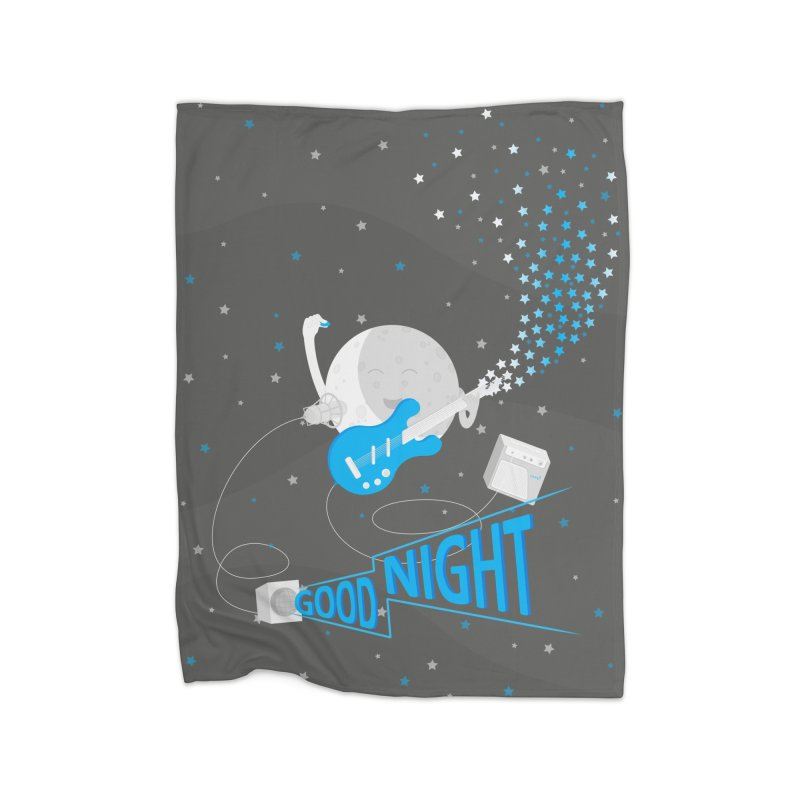 Good Night in Fleece Blanket Blanket by cumulo7's Artist Shop