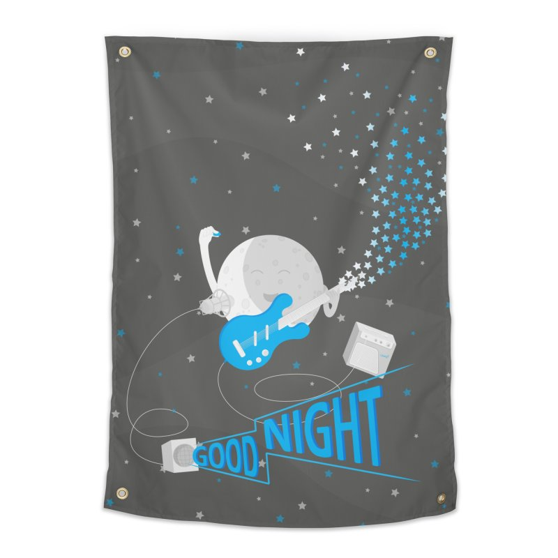 Good Night Home Tapestry by cumulo7's Artist Shop