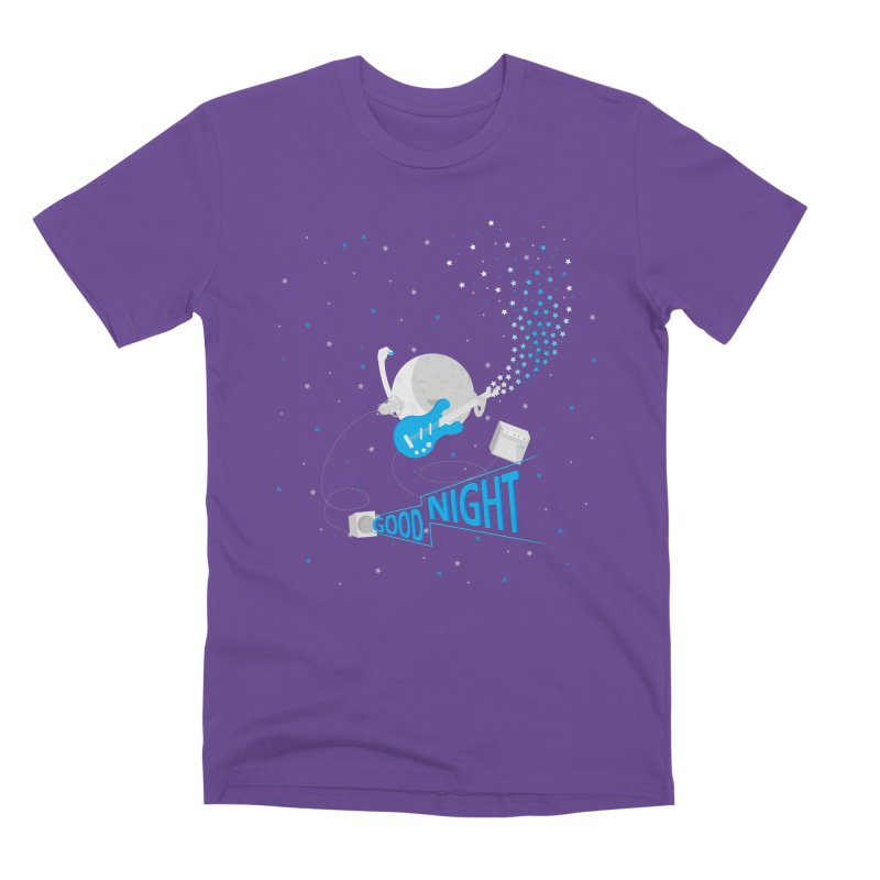 Good Night Men's Premium T-Shirt by Cumulo 7