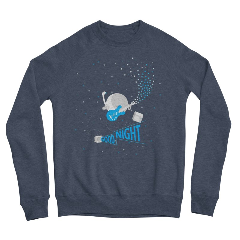 Good Night Women's Sponge Fleece Sweatshirt by Cumulo 7