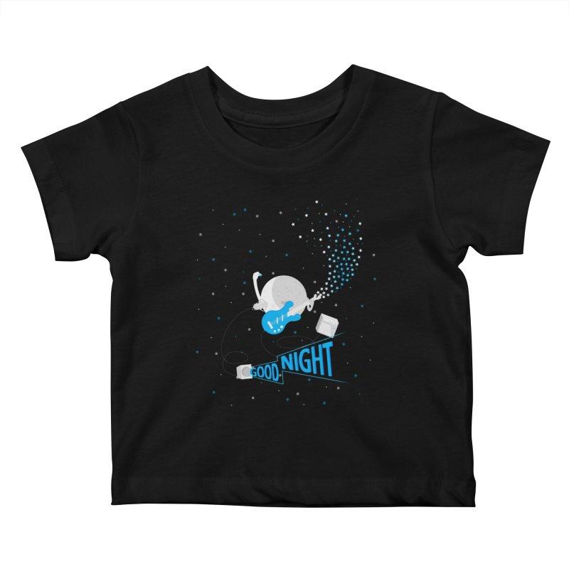 Good Night Kids Baby T-Shirt by cumulo7's Artist Shop