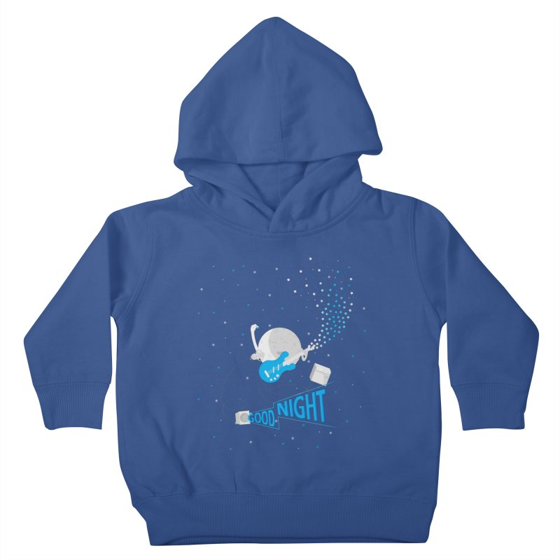 Good Night Kids Toddler Pullover Hoody by cumulo7's Artist Shop