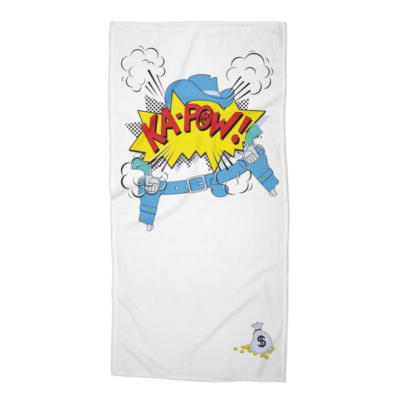 Ka-PowBoy!! Accessories Beach Towel by cumulo7's Artist Shop