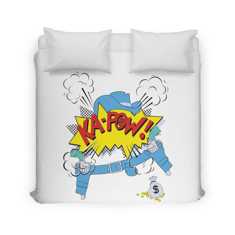 Ka-PowBoy!! Home Duvet by cumulo7's Artist Shop