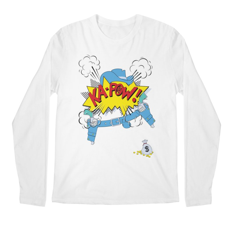 Ka-PowBoy!! Men's Longsleeve T-Shirt by cumulo7's Artist Shop