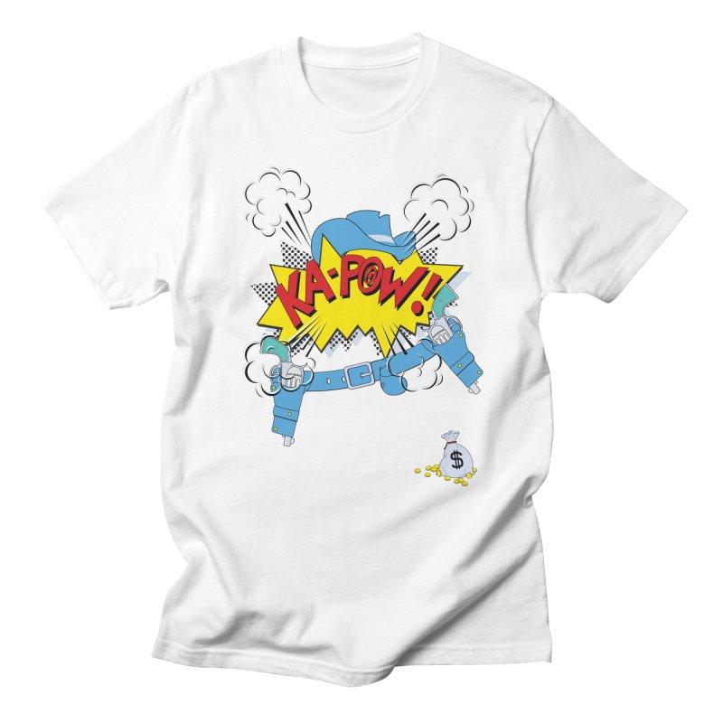 Ka-PowBoy!! Men's Regular T-Shirt by Cumulo 7