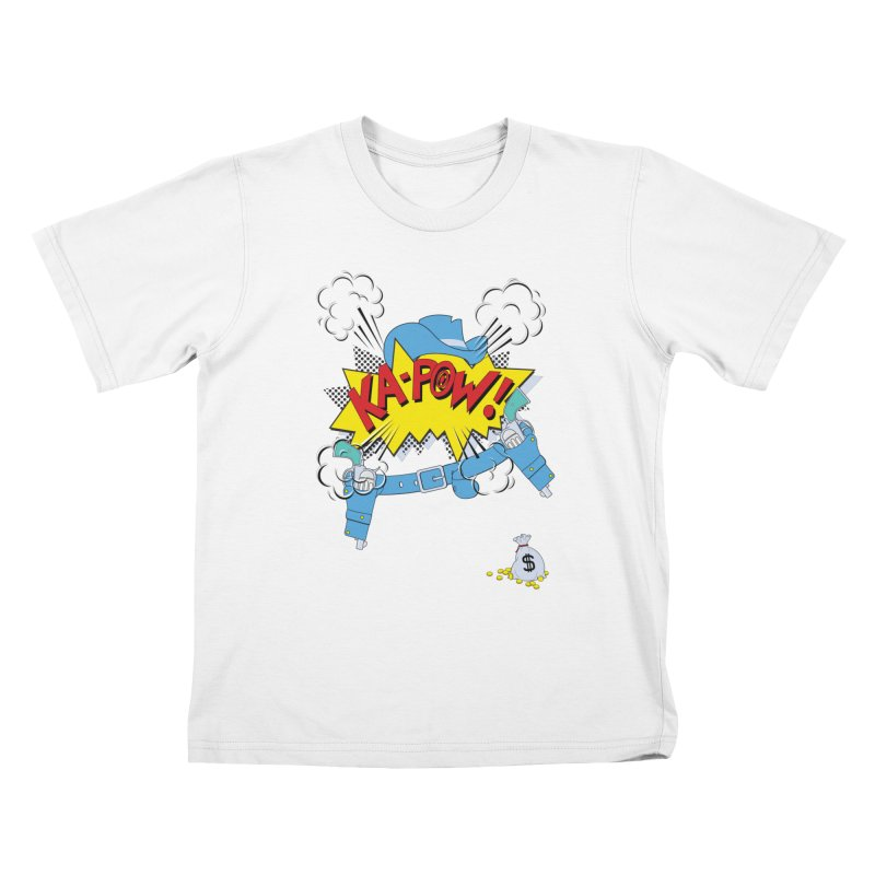 Ka-PowBoy!! Kids T-shirt by cumulo7's Artist Shop
